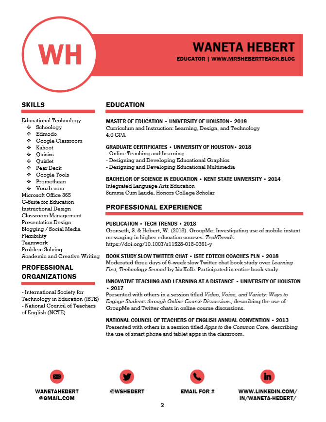 Dec2018 Resume Page 2