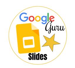 Dig Badge Google Slides Gold Star